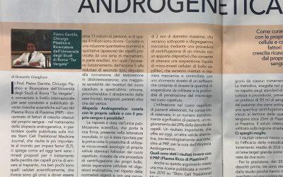 Alopecia Androgenetica e le nuove biotecnologie